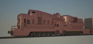 Nuclear cargo train