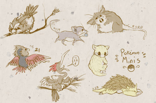 16-28 Pokemon