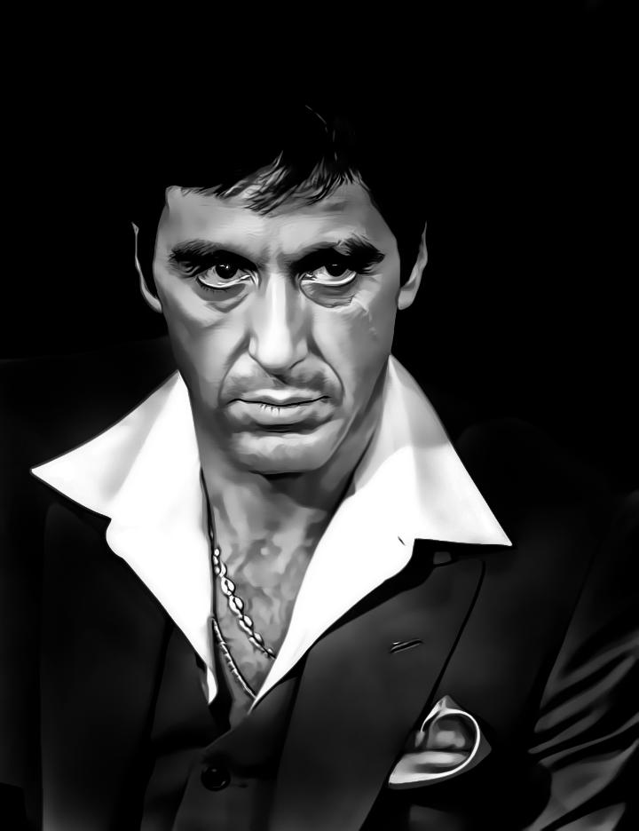 Al Pacino-Tony Montana...