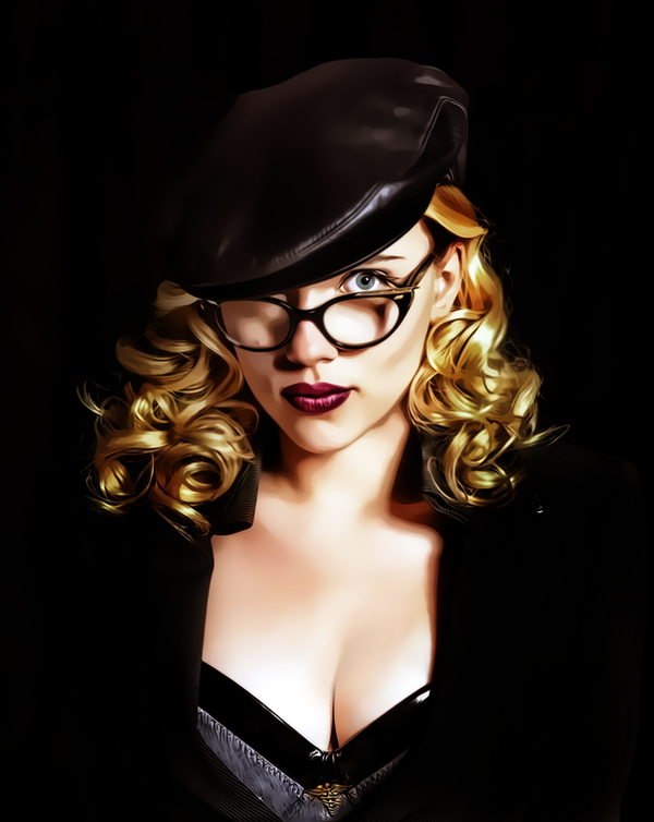 Scarlett johansson the Spirit by donvito62