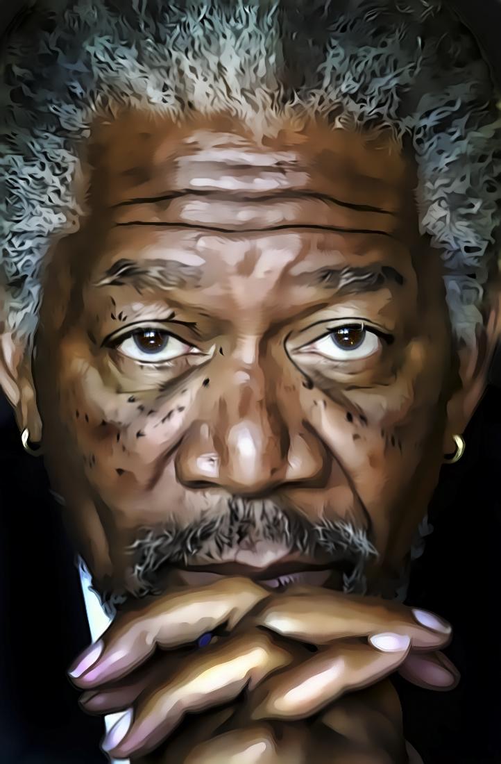 Morgan Freeman by donvito62