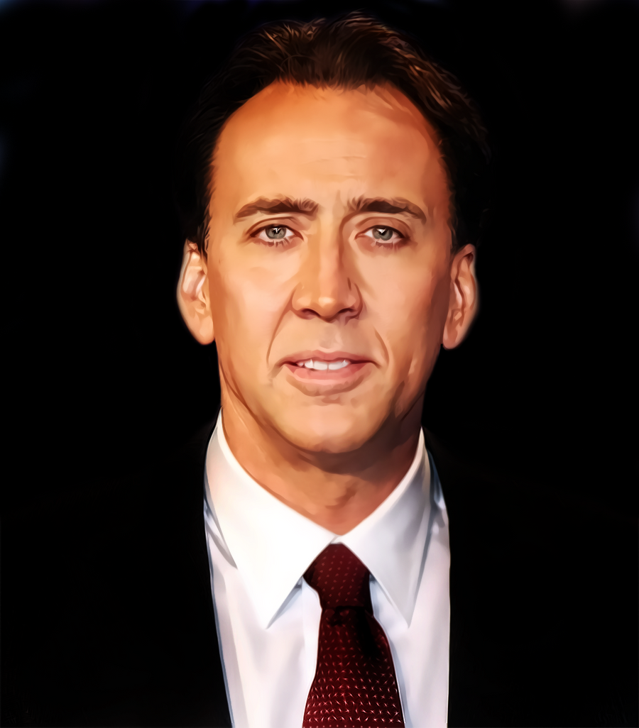 nicolas cage face off
