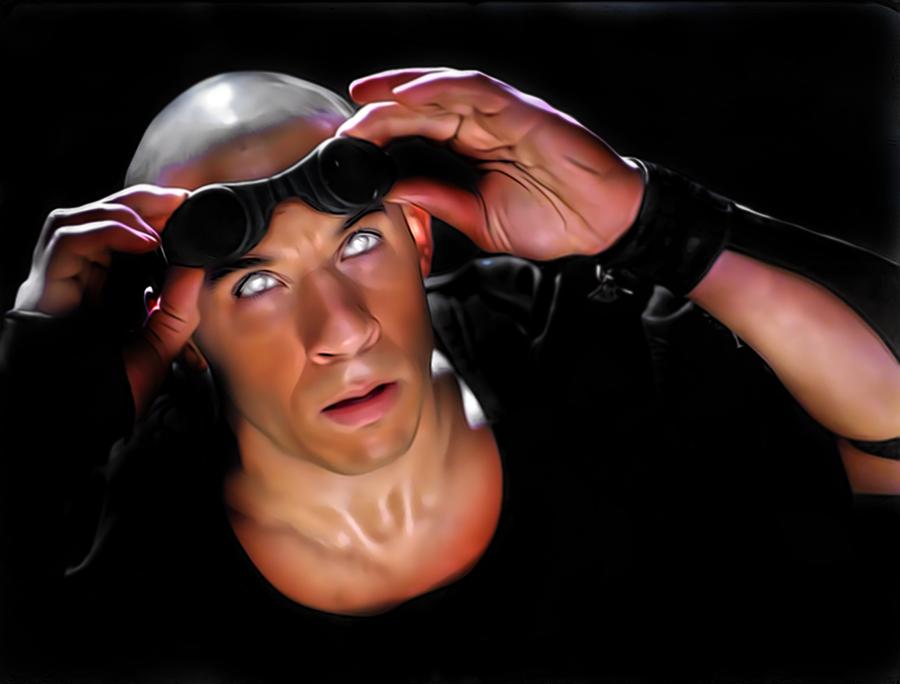 Vin Diesel-Riddick by donvito62