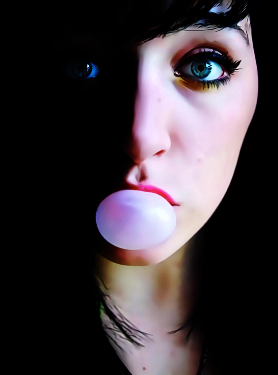 Dark Light And Bubble by donvito62