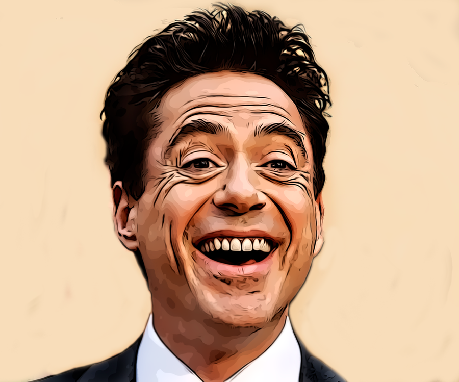 Robert Downey Jr-Bright by donvito62