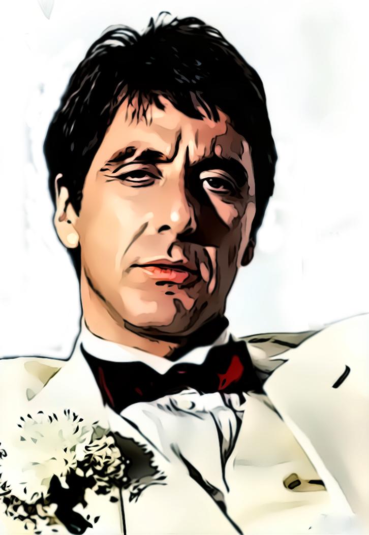 Al pacino scar face 2 by donvito62 on deviantart - Scarface cartoon wallpaper ...