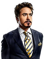 Robert Downey Jr Once More by donvito62