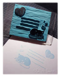 Stamp - Cat by Lilith-Lynn