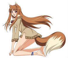 Holo the wise wolf by syanhawk