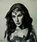 Gal Gadot  aka Wonder Woman portrait
