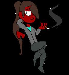 Shoulder Demon by UndeadNinjaTV
