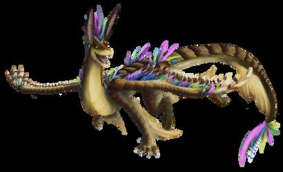 Drerika Request - Izzy Dragon by AstreyaSky