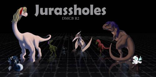 DMCB R2 - Jurassholes Art by AstreyaSky