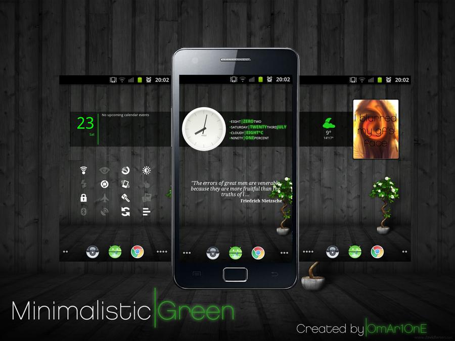 Minimalistic Green by omar1one