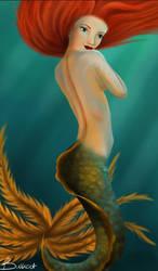 mermaid by ManonBuizert