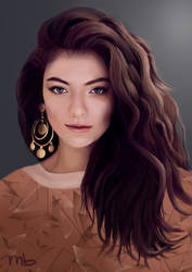 Lorde by ManonBuizert