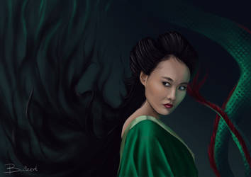 Witch from 47 Ronin by ManonBuizert