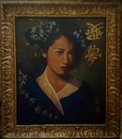 Blue Geisha final by johnstevensartist