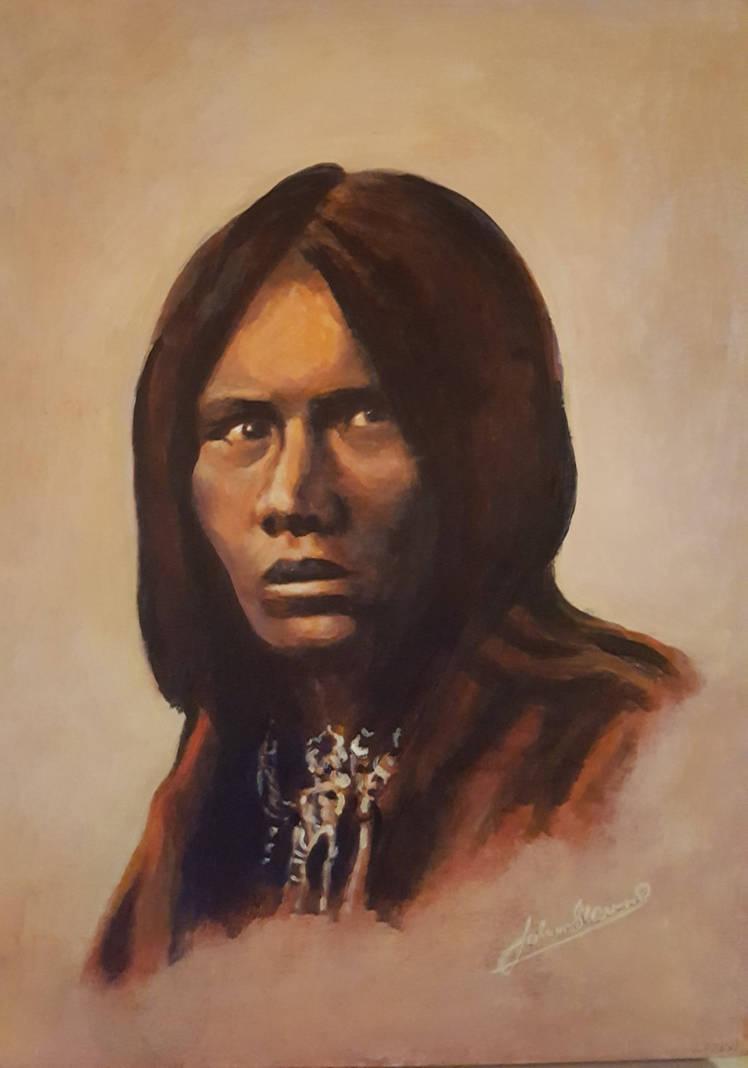 Apache Chief Lozen by johnstevensartist
