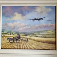 Safe Return (Lancasters and Land Girls)