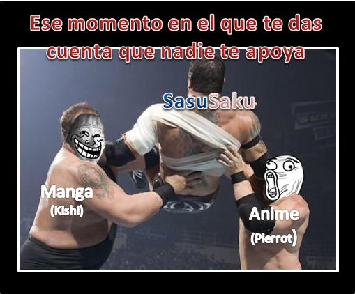 Anti SasuSaku....por que ni Pierrot ayuda by MegamanX0