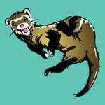 Ferret Mascot