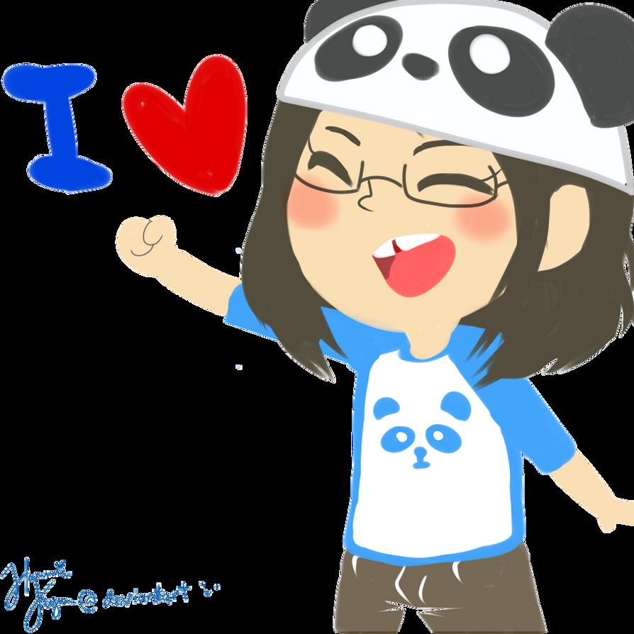 I LURV PANDAS by harumi-kyun