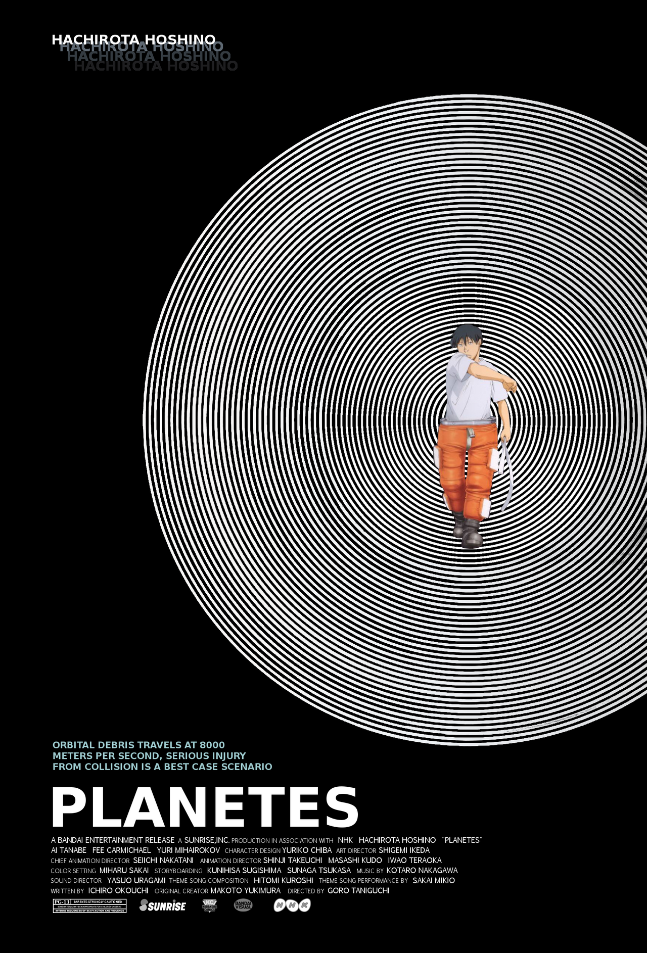 Planetes Movie Poster by ti7503 on DeviantArt