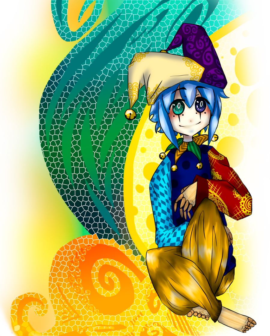 Anime Jester Characters : Circus jester by gelidwolf on deviantart