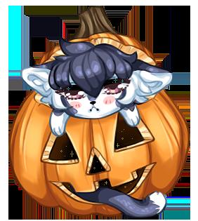 Tobin Halloween Grump by Gelidwolf