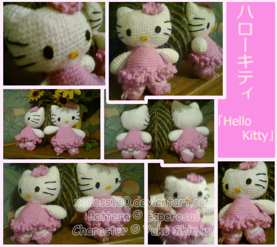 Crochet Hello kitty on Pinterest Hello Kitty Crochet ...