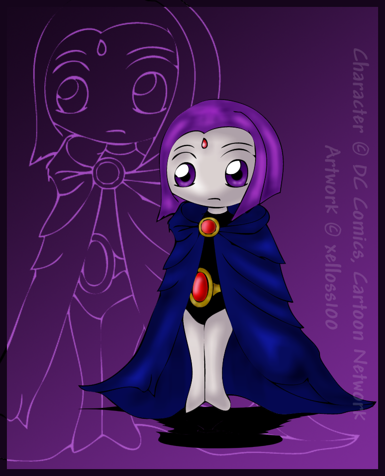 Chibi Raven by xelloss...