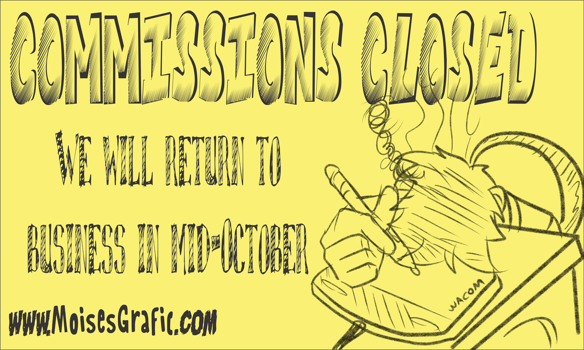 COMMISSION CLOSED (RETURN IN 10/20)