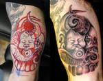 Birth of satan tattoo