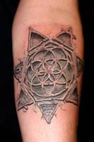 Tractatus tattoo by dmtattoo