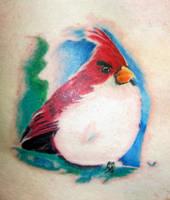 Cardinal tattoo by dmtattoo