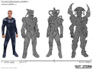 Out of the Storm - Early Concept Design-Line Work