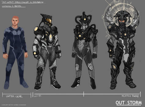 Out of the Storm - Early Concept Design- Unlit