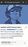Roderick 'Dipper' Sergjev Pines Wikipedia Page