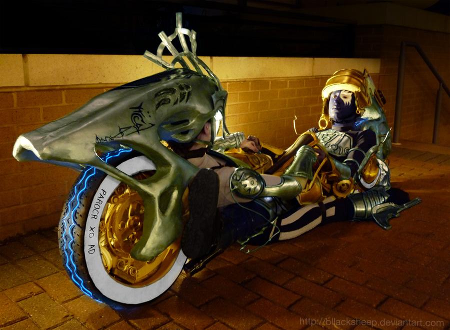 Shiva Sisters Styria and Nix: Bikeform by Bllacksheep