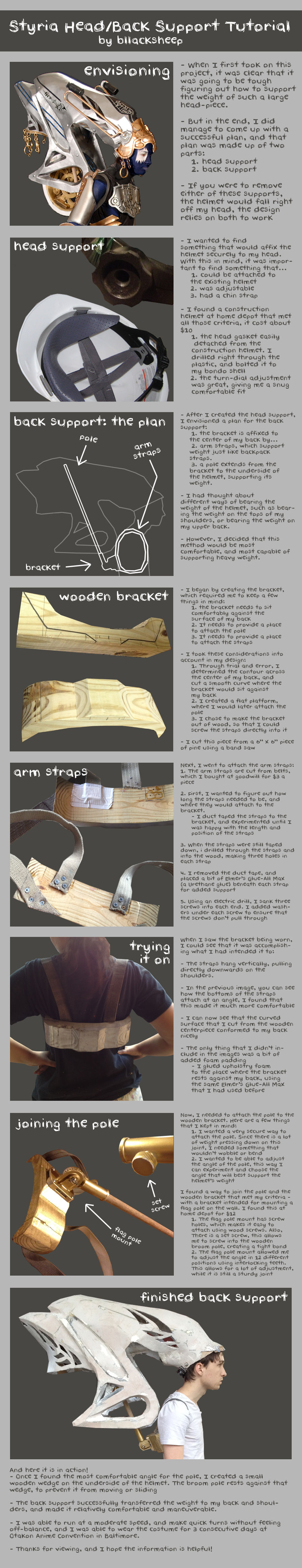 Shiva Sisters Styria Head/Back Support Tutorial