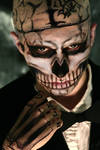 Zombie Boy Cosplay: Confrontation
