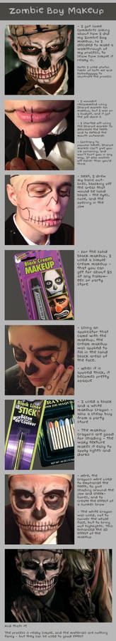 Zombie Boy Makeup Tutorial