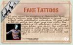 Cosplay Tip 2: Fake Tattoos