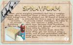 Cosplay Tip 4: Spray Foam