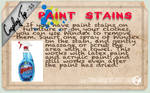 Cosplay Tip 11 - Paint Stains