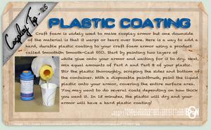 Cosplay Tip 25 - Plastic Coating by Bllacksheep