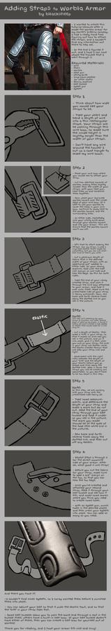 Adding Straps to Worbla Armor Tutorial