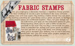 Cosplay Tip 34 - Fabric Stamps