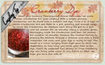 Cosplay Tip 40 - Cranberry Dye